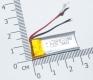 Литий-полимерный аккумулятор 3,7В  051230 501230 130mah (устройства: навигаторы, радиоуправляемые игрушки  )