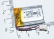 Литий-полимерный аккумулятор 3,7В  072030 702030 400mah (устройства: Bluetooth, MP3, MP4  )