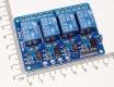 Модуль реле 4-х канальный для Arduino (с оптронной изоляцией 5V, управление 0, реле Songle)