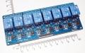Модуль реле 8-канальный для Arduino (с оптронной изоляцией 5В, low level trigger, реле Songle)