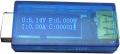 Электронный портативный OLED USB-тестер (напряжение, ток, мощность, емкость) USB2.0, 3 разряда