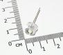Светодиод белый 8мм, соломенная шляпа, 0.5W , 4000-5000 mcd