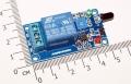Модуль реле датчика обнаружения огня / пожара, напряжение питания 5В