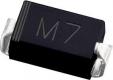 1N4007 SMA M7 MIC/TOS, диод выпрямительный 1А 1000В