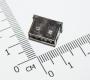 Разъем USB-A на плату с контактами на 90 градусов (мама, укороченный разъем)