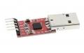 Универсальный преобразователь USB to TTL на CP2102, serial converter, 5Pin