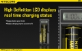 Зарядное устройство Nitecore UM10 для аккумуляторов типа 18650/14500/10440/17670/16340 с ЖК-экраном и питанием от USB