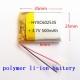 Литий-полимерный аккумулятор 3,7В  062535 602535 500mah (устройства: Bluetooth, MP3, MP4 )