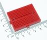 Плата для макетирования электрических схем без пайки (BreadBoard, SYB-170, красная, 35*47мм)