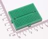 Плата для макетирования электрических схем без пайки (BreadBoard, SYB-170, зеленая, 35*47мм)