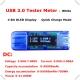 Электронный портативный OLED USB-тестер (напряжение, ток, мощность, емкость) USB3.0, 4 разряда