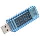Электронный портативный USB-тестер (напряжение 3-8В, ток 0-3А, 4 сегмента)