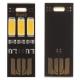 Миниатюрный USB светильник 5В 0,1А 32*12мм, 3 светодиода 5730, теплый белый свет