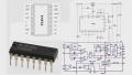TL494CN двухтактный ШИМ-контроллер DIP16