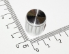 Ручка регулировки громкости из металла (цвет серебро, для одноместных, двухместных потенциометров и т.д.)
