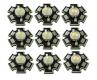 Светодиод 3 Вт холодный белый цвет 10000-15000К 200-260 Lm 3.2-3.6В 700мА на радиаторе