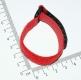 Цветные стяжки для проводов на липучке длиной 17см, ширина 2см цвет красный