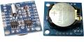 I2C модуль часов реального времени RTC 24C32 на микросхеме DS1307 + микросхема EEPROM AT24C32 + CR2032 в комплекте