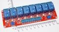 Модуль реле 8-канальный для Arduino (с оптронной изоляцией, 12В, hight and low level trigger, реле Songle)