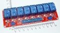 Модуль реле 8-канальный для Arduino (с оптронной изоляцией, 5В, hight and low level trigger, реле Songle)