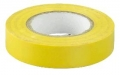 Изолента ПВХ 0.13 × 15 мм длина 20м желтая