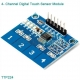 4-канальная сенсорная панель на TTP224 для Arduino