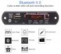 Встраиваемый микро медиацентр Bluetooth 5.0 FM радио MP3 MicroSD card USB пульт ДУ с громкой связью и функцией записи