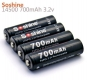 Аккумулятор LiFePO4 14500 Soshine 700 мА/ч 3.2 В