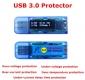 Электронный портативный OLED USB-тестер (напряжение, ток, мощность, емкость, температура, время зарядки) USB3.0, 4 разряда