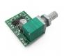 Миниатюрный стерео усилитель PAM8403 с потенциометром 2х 3W 5В класс D