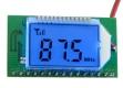 Миниатюрный безкорпусной радиоприемник FM 87-108МГц с цифровой стабилизацией частоты и ЖК экраном