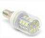 Светодиодная лампа E14 24В 7 Вт 27 LED smd5730 белый теплый цвет 2700-3500K
