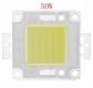 Сверхяркий светодиод 50 Вт белый цвет 6000-6500К 4000-4500 Lm 32-34В 1500мА