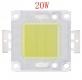 Сверхяркий светодиод 20 Вт холодный белый цвет 8000-10000К 2000-2400 Lm 31-34В 700мА