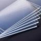 Листовой пластик А-ПЭТ прозрачный (SafPlast) толщиной 1.5мм размер 140*150мм