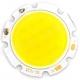 Светодиодная сборка 14 smd COB светодиодов, 7C2B, белый теплый цвет, 21-25В 300мА