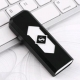 Электронная аккумуляторная зажигалка USB, выдвижная