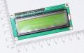 Arduino IIC / I2C 1602 LCD желто-зеленый  дисплей (5В)