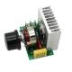 Мощный электронный симисторный регулятор напряжения до 3800 Вт для электронных устройств регулирования освещенности/скорости/температуры