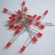 Светодиод красный 3мм, 1.8-2.0В, 620-630нм, 1400MCD, красный корпус