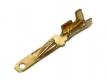 Клемма ножевая, неизолированная, нож плоский 2.8 мм, толщина 0.4 мм, пайка либо обжимом