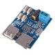 Аудио модуль (MP3-плеер) на GPD2856C, USB-flash, TF-карта,  2-3Вт