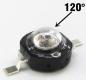 Светодиод инфракрасный 850 нм 3 Вт 2 chips EPISTAR 120° (IF 3W High Power Led)