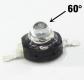 Светодиод инфракрасный 850 нм 3 Вт 2 chips EPISTAR 60° (IF 3W High Power Led)