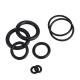 Кольцо уплотнительное резиновое диаметром 4.5*2мм черное