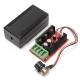 Мощный электронный симисторный ШИМ-регулятор напряжения на 2000 Вт 9В - 50В 40А для регулирования освещенности/скорости/температуры
