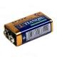 Батарейка 6F22 9V carbon zinc battery (Крона) 9В 480 мАч