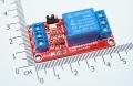 Модуль реле 1-канальный для Arduino с оптронной изоляцией, 5 вольт (hight and low level trigger, реле TONGLING)