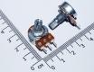Переменный резистор 500 КОм (потенциометр, короткая ручка 15 мм, диаметр 6мм)