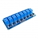 Модуль реле 8-канальный для Arduino (с оптронной изоляцией 5В, low level trigger, реле TONGLING)